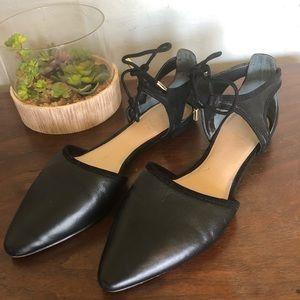"""Franco Sarto - """"Shaker"""" pointed toe lace flats"""